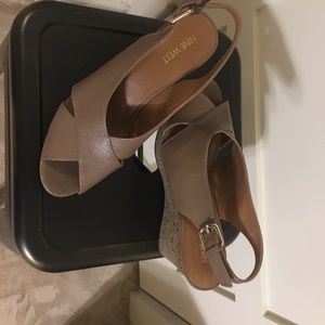 Nine West Shoes - Nine West Cork Wedge Sandals